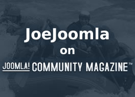 JoeJoomla on Joomla Community Magazine